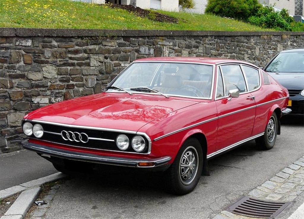Audi 100 coupe 1974