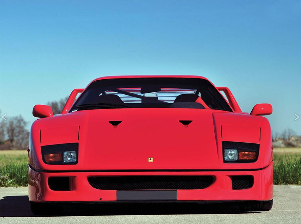 Ferrari F40 voorzijde