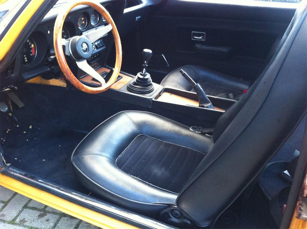 Opel GT-J interieur 1970