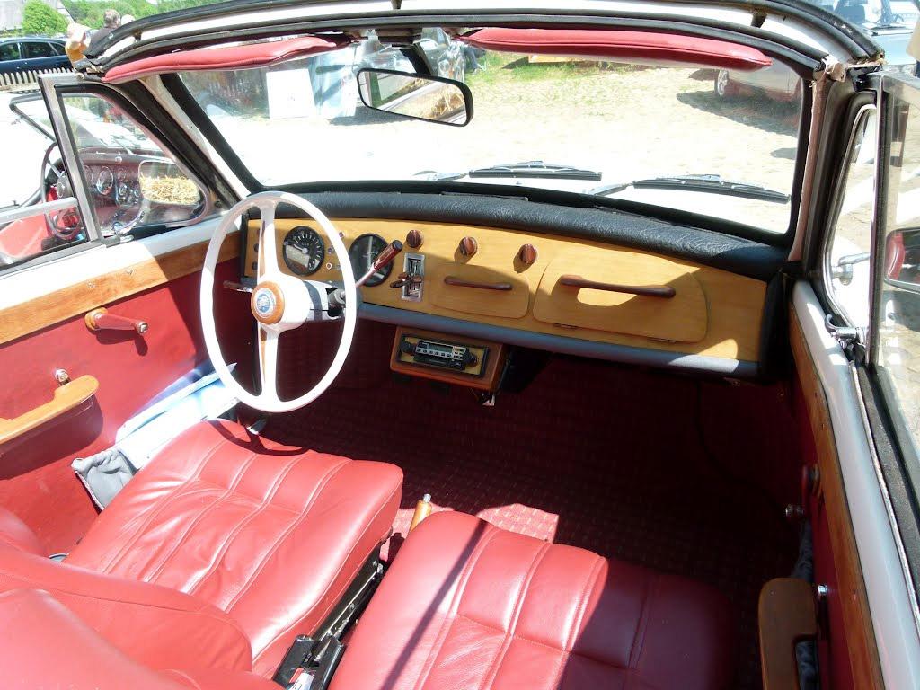 DKW 1000 cabrio interieur