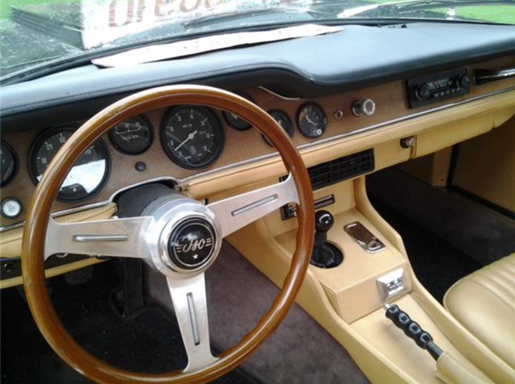 Iso Grifo 7L interior 1971