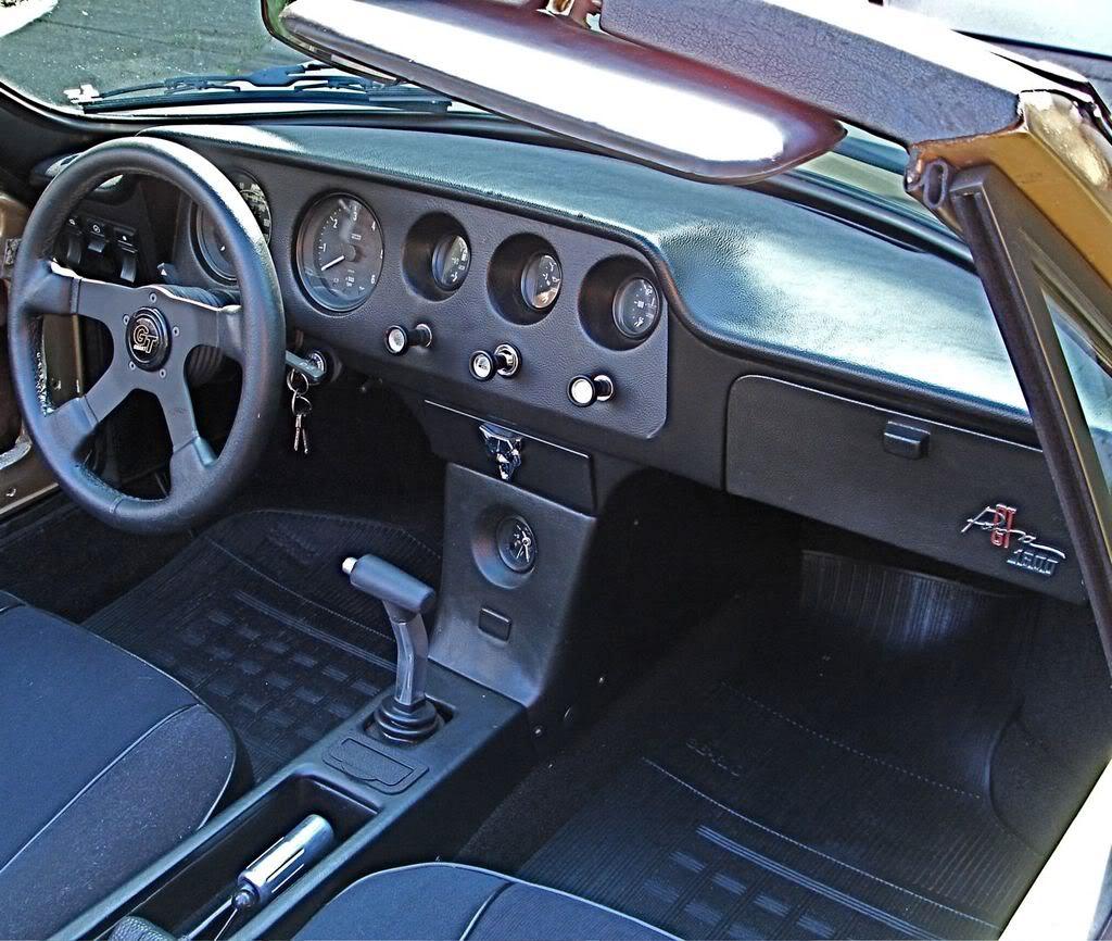 Puma GTS interieur