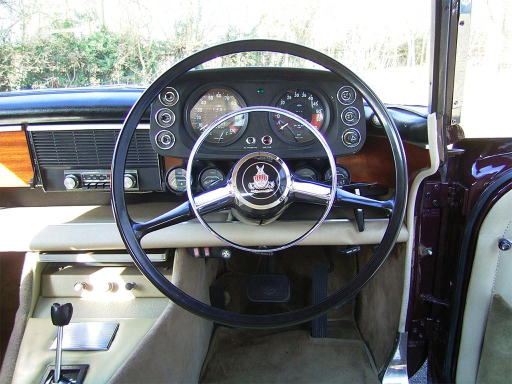 Rover P5B interieur 1973